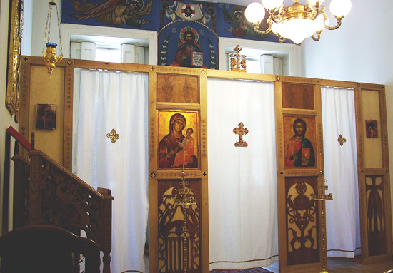 Feast of St. Stephan and Hierotheos chapel /Szt. Istv�n �s Hierotheosz k�plona